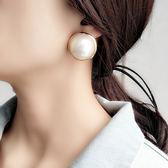 耳夾大珍珠耳釘韓國時尚誇張氣質復古網紅潮人超耳環女無耳洞個性 范思蓮恩
