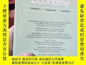 二手書博民逛書店Journal罕見of Political Economy Vo