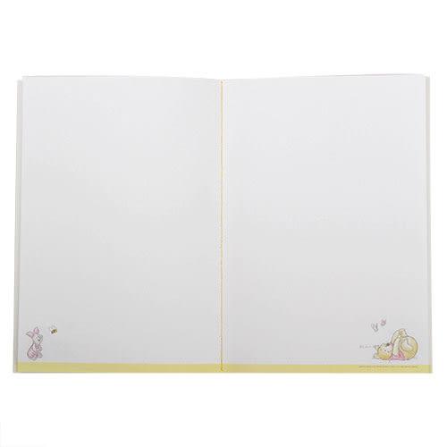 《LEing》小熊維尼A5縫線式平裝彩頁筆記本(手繪風)★funbox生活用品★_RD00255