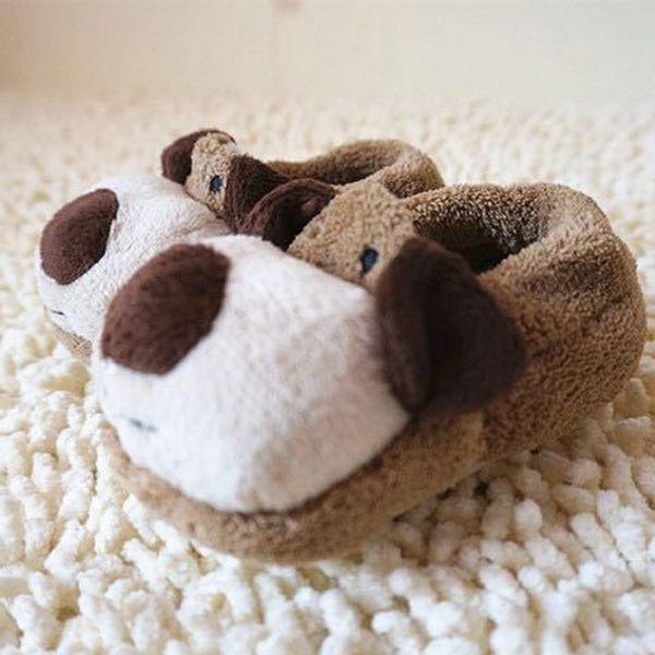 [媽咪可兒] 3D立體動物造型保暖室內鞋/保暖鞋襪/襪套/地板襪-狗狗