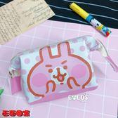 正版 KANAHEI 卡娜赫拉的小動物 兔兔 P助 鐵線小化妝包 收納包 卡娜P助大頭款 COCOS KS180