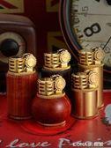 純銅迷你戰壕煤油打火機個性防風創意復古便攜小胖墩網紅男士禮物 樂活生活館