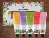 ●魅力十足● 韓國 Marie Claire 自然花香護手霜禮盒組(50mlx5入)