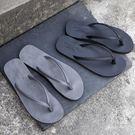人字拖男夏潮正韓情侶沙灘鞋防滑涼拖時尚外穿海邊夾腳拖鞋男士限時八九折
