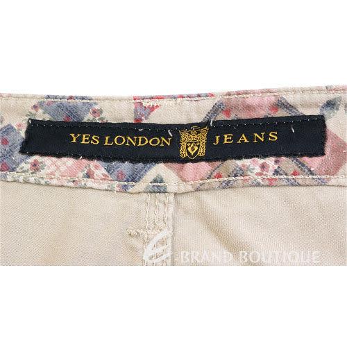 YES LONDON 休閒直筒長褲(卡其色) 0820073-28
