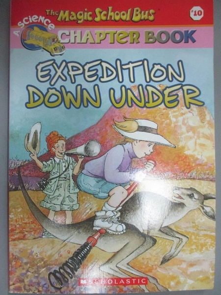 【書寶二手書T1/原文小說_NGD】Expedition Down Under_Carmi, Rebecca