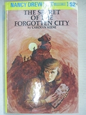 【書寶二手書T1/原文小說_CTL】The Secret of the Forgotten City_Carolyn Keene