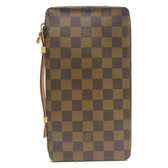 LOUIS VUITTON LV 路易威登 棋盤格手拿包 Organizer De Voyage Travel Case BRAND OFF
