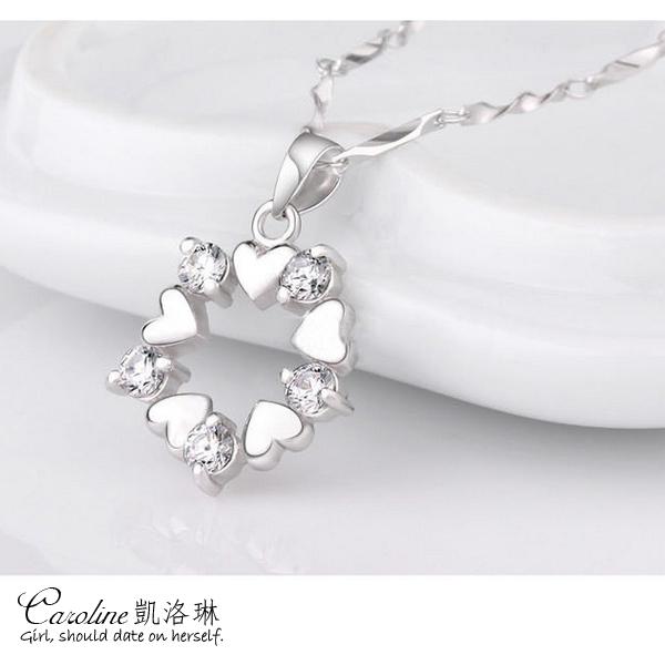 《Caroline》★【心的方向】甜美魅力、高雅大方設計配飾流行時尚項鍊66427