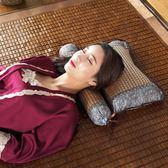 涼席枕頭夏季涼爽蕎麥頸椎枕護頸圓枕頸椎專用單人夏天涼枕頭 創想數位igo