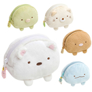 角落生物 零錢包 化妝包 絨毛 Sumikko Gurash 日本正版 該該貝比日本精品