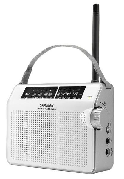 山進 SANGEAN PR-D6 FM/AM 二波段 數位液晶顯示充電收音機 【公司貨】