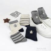 兒童襪子秋冬純棉男童3-5-7-9-10以上12-15歲男孩中大童春秋全棉  朵拉朵衣櫥