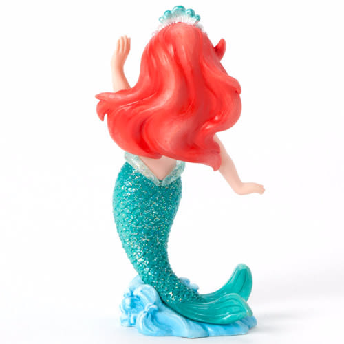《Enesco精品雕塑》迪士尼公主Q版迷你塑像-小美人魚★funbox生活用品★_EN65807