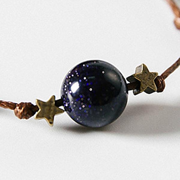 星空藍砂石手鍊 MISJ7516