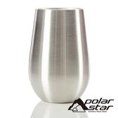 【POLARSTAR】雙層不銹鋼斷熱杯 350mL P19714 咖啡杯.茶杯.保溫杯.水杯.露營.戶外.居家