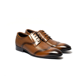 Waltz-男紳士鞋612083-06棕