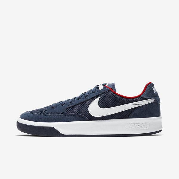Nike Sb Adversary [CJ0887-400] 男鞋 運動 休閒 滑板 緩震 抓地力 麂皮 透氣 穿搭 藍