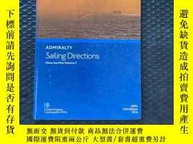 二手書博民逛書店admiralty罕見sailing directions china sea pilot vlome 2Y3
