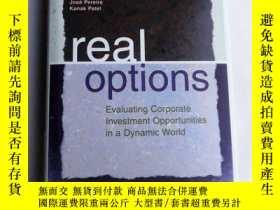 二手書博民逛書店Real罕見Options : Evaluating Corpo
