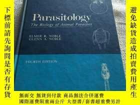 二手書博民逛書店Parasitology罕見The Biology of Animal Parasites 精裝Y156452