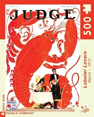 【KANGA GAMES】拼圖 龍蝦迷 Judge Magazine - Lobster Lovers 500片