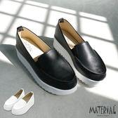 懶人鞋 簡約素面厚底鞋 MA女鞋 T2618