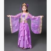 熊孩子❤新款兒童古裝COS演出服(主圖款-紫色-不拖尾) 定制不退