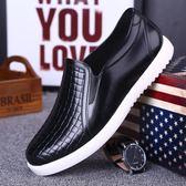 雨鞋男低幫防滑防水膠鞋男士短筒雨靴水鞋夏季時尚軟底廚房工作鞋
