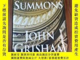 二手書博民逛書店The罕見Summons 傳票Y12800 John Grish