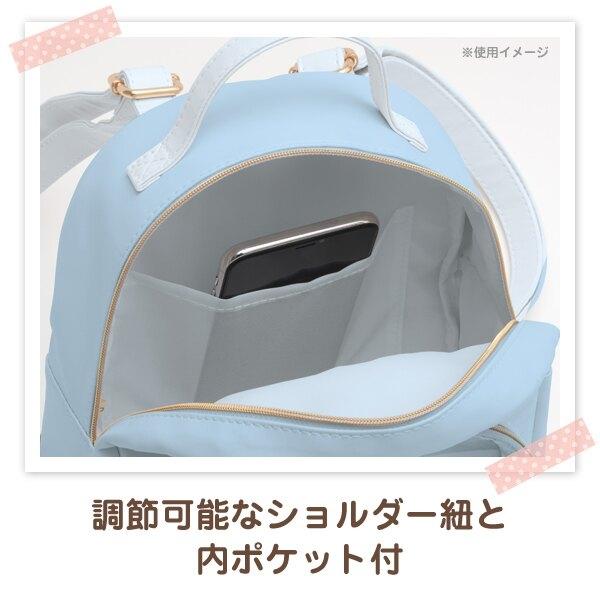 【角落生物 皮革後背包】角落生物 皮革 後背包 透明 藍色 SS號專用 該該貝比