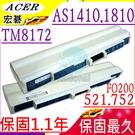 ACER 電池-宏碁 電池-ASPIRE TIMELINE 1810T,1410,AS1410,AS1810TZ,UM09E71,934T2039,UM09E31,UM09E36,UM09E56
