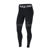 Nike 長褲 Pro Tights 黑 白 女款 緊身褲 快乾排汗 運動 訓練 【ACS】 AO9969-010