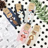 【KP】襪子 造型襪 可愛 動物系列 條紋 小尾巴造型 流行襪 短襪 韓國製 DTT100007723