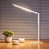 臺燈護眼書桌大學生插電式LED保視力宿舍寢室工作現代簡約ins臺風-黑色地帶
