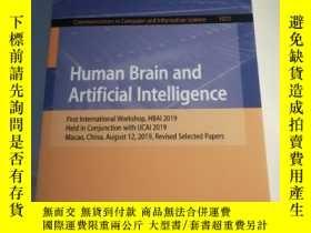 二手書博民逛書店Human罕見Brain and Artificial lntelligence(人腦與人工智能)Y25829
