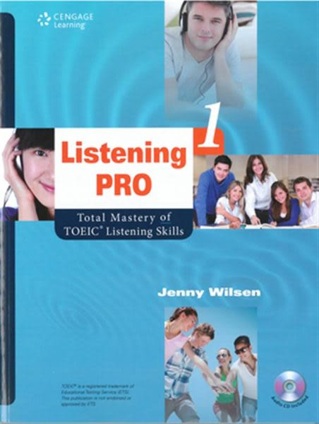 Listening Pro 1: Total Mastery of TOEIC Listening Skills(with MP3)
