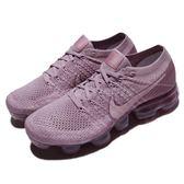 Nike Wmns Air VaporMax Flyknit 紫 紫羅蘭 飛線編織 大氣墊 運動鞋 女鞋【PUMP306】 849557-502