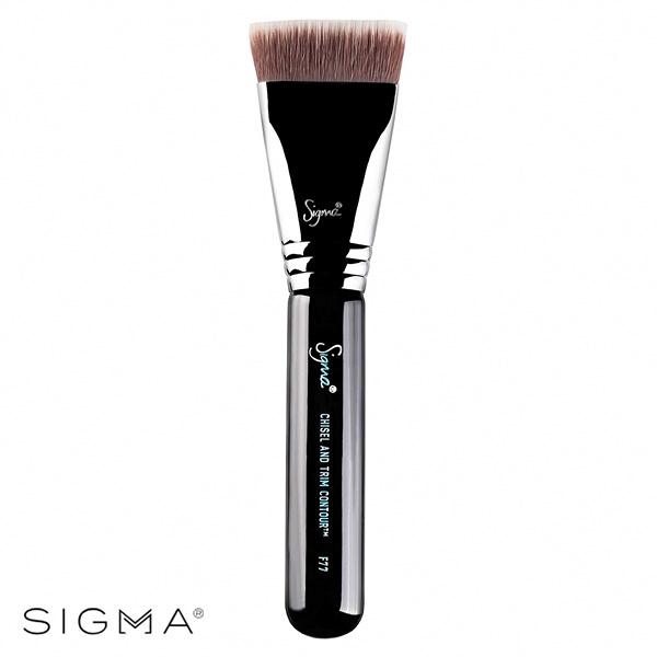 Sigma F77-平頭雕塑修容刷 Chisel And Trim Contour Brush - WBK SHOP