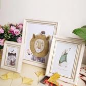 復古風美歐式婚紗相框5678101216寸8K16KA3A4畫框擺台掛牆【快速出貨】