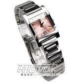 CASIO卡西歐LTP-1283D-4A 方形 不銹鋼 粉橘色面 20mm 女錶 時間玩家 LTP-1283D-4ADF 數字錶