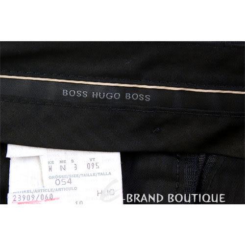 BOSS 細亞麻紋西裝褲(深灰色) 0511086-06