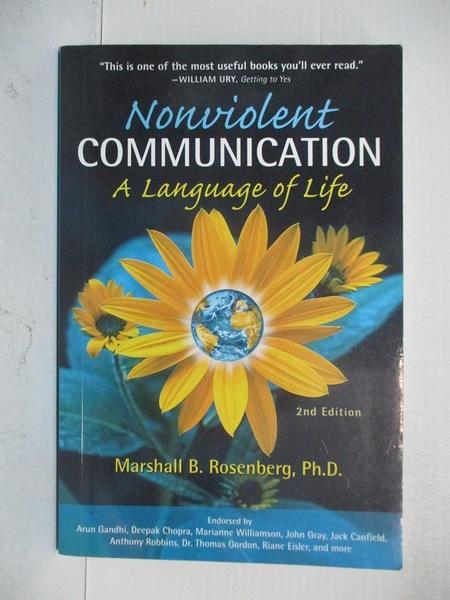 【書寶二手書T1/心理_DO3】Nonviolent Communication: A Language of Life