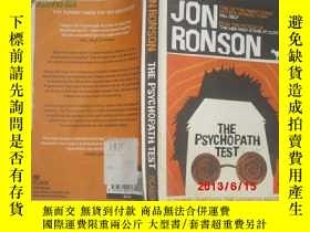 二手書博民逛書店Jon罕見Ronson 著:The Psychopath Tes