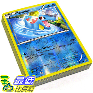 [美國直購] 神奇寶貝 精靈寶可夢周邊 Pokemon B00104MFRG Lot of 25 Random Reverse Foil Single Cards