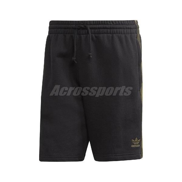 adidas 短褲 Camouflage Short 黑 綠 迷彩 男款 運動休閒 【PUMP306】 FM3364