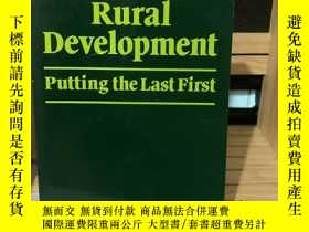 二手書博民逛書店Rural罕見Development Putting the Last First Robert Chamber