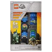 免運費【 樂高積木 LEGO 】兒童手錶 - 侏儸紀世界 小藍╭★ JOYBUS玩具百貨