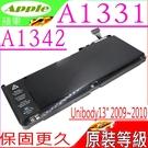 APPLE 電池(原裝等級)-蘋果 A1331,A1342 ,MC207,MC516,Unibody 13 Late 2009 ,末代小白,Macbook 6.1