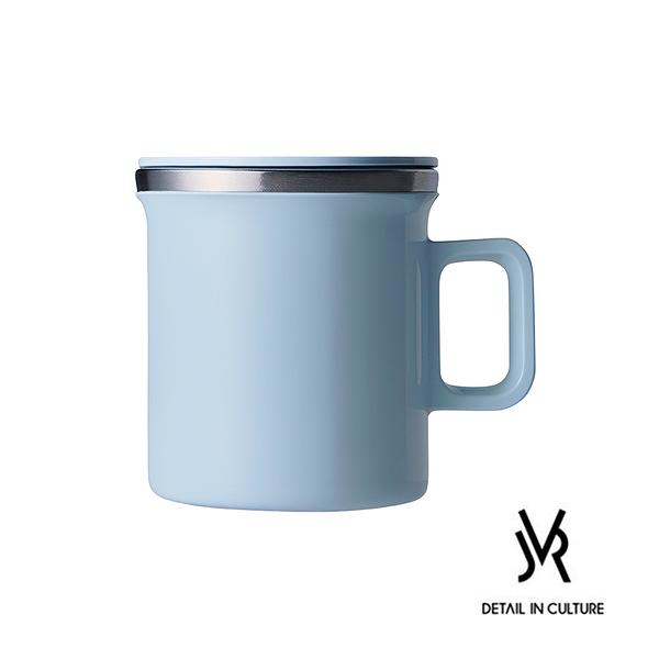 JVR韓國原裝MONO MUG馬卡龍不銹鋼馬克杯360ml